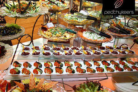 Peachy Keens - All You Can Eat Evening World Buffet for Two - Save 58%