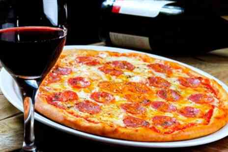 Filini Restaurant - Pizza & Bottle of Wine for Two - Save 24%