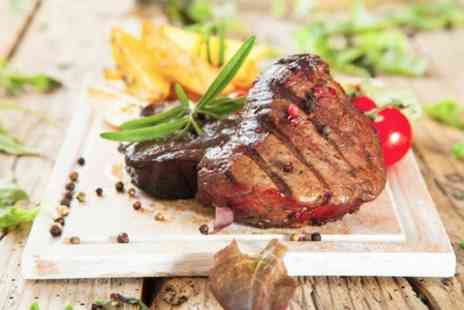 The Dusty Miller - Steak Meal With Drinks For Two - Save 52%