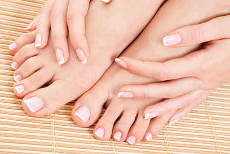 Gifted hands - Manicure and Pedicure - Save 55%