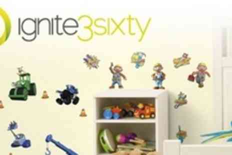 ignite3sixty - One Packs of Childrens Wall Stickers - Save 50%