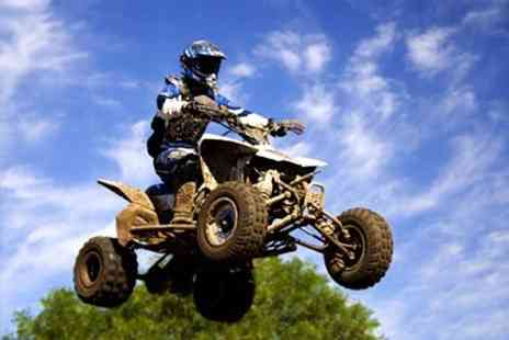 Universal Paintball - Quad Biking Experience For One - Save 67%