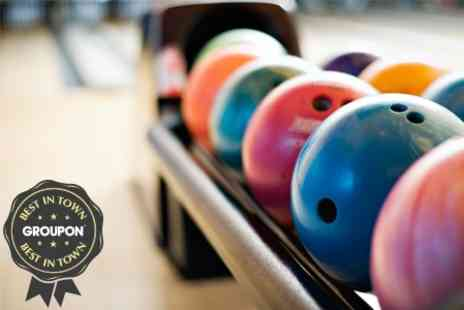 Basildon Bowl & Quasar - Bowling or Laser Tag For Six  - Save 60%
