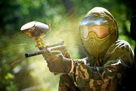 Unreal Paintball - Ultimate paintball experience plus lunch and 100 paintballs - Save 94%