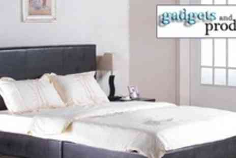 Gadgets and Products - Faux Leather Bed - Save 77%