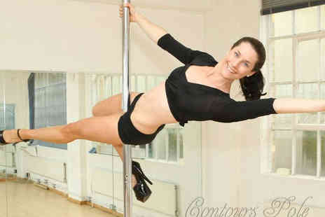 Contours Pole - Two Hour Introduction to Pole Dancing Class - Save 70%