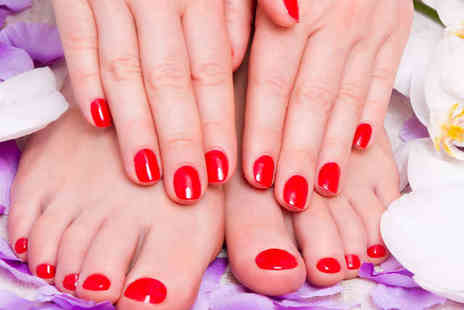Riddhis Beauty Clinic - Luxury Manicure or Pedicure - Save 66%