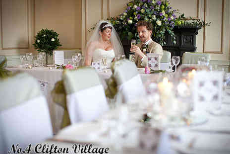 No. 4 Clifton Village - Winter Wonderland Wedding Package - Save 50%