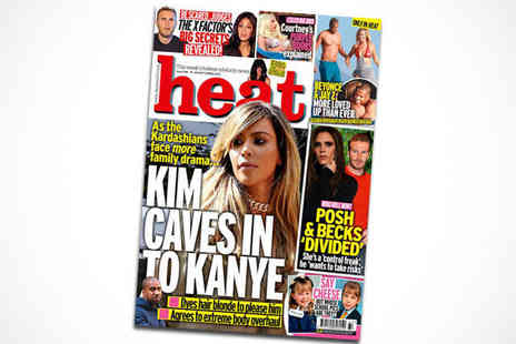 Heat Magazine - 15 Issue Subscription to Heat - Save 19%