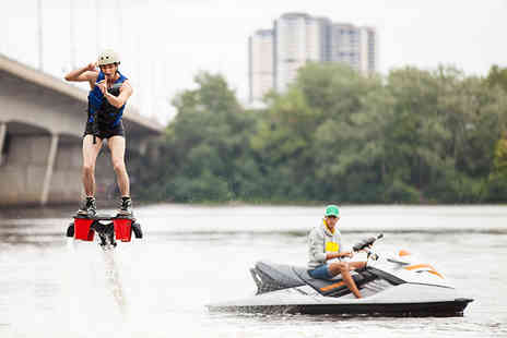 Flyboard Fun - 30 minute flyboarding experience for 1 person - Save 51%