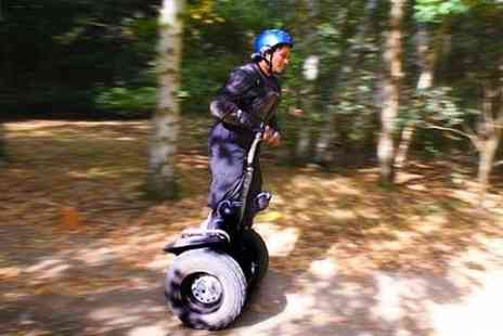 Segkind - Off Road Segway Racing Experience - Save 65%