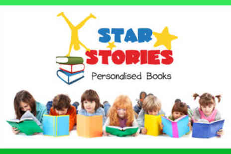 Star Stories - Personalised Childrens Books - Save 34%