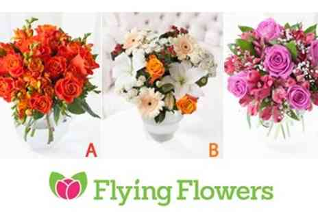 Flying Flowers - Gorgeous Bouquets of Flowers Perfect for Grandparents Day - Save 33%