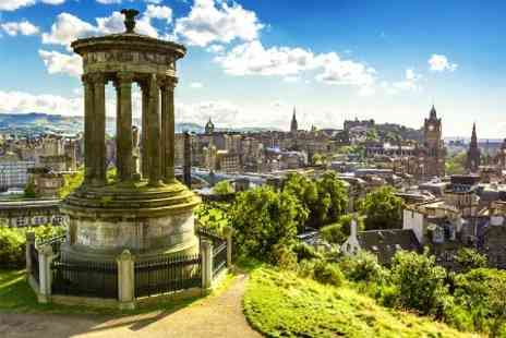 Britannia Hotel Edinburgh - In Edinburgh One Night For Two With Breakfast and Wine - Save 34%