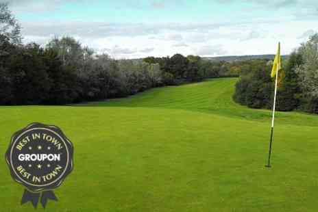 The Kent and Surrey Golf Club - 18 Holes For Two - Save 67%