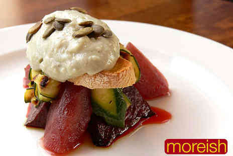 Moreish - Seven Course Tasting Menu with Bellini Cocktail on Arrival for Two - Save 62%