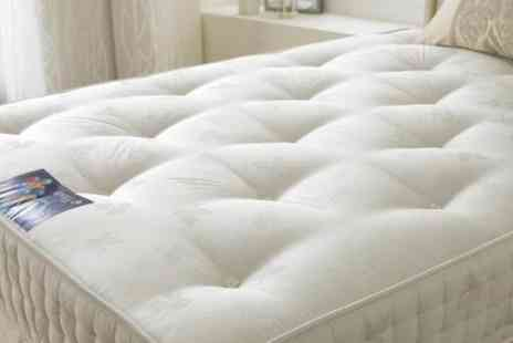 Tranquility Beds - Double Hanover 1000 pocket sprung mattress - Save 47%