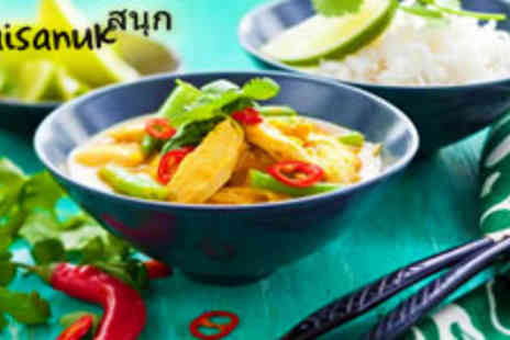 Thaisanuk - East Asian Fusion meal for Two - Save 52%