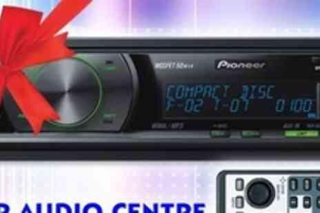 Car Audio Centre - Pioneer CD or MP3 Tuner With Two RCA Pre Outs - Save 66%