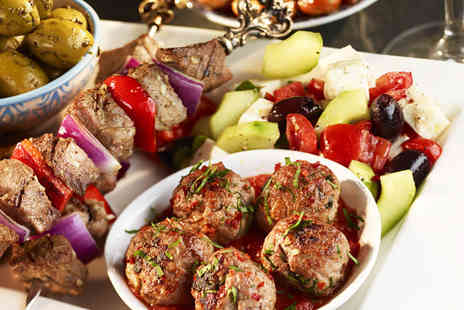 Angora Restaurant - Two course Turkish meal for 2 - Save 58%