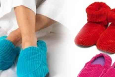 The Discovery Store - Intelex Warmies Microwaveable Slippers in Choice of Colours - Save 47%