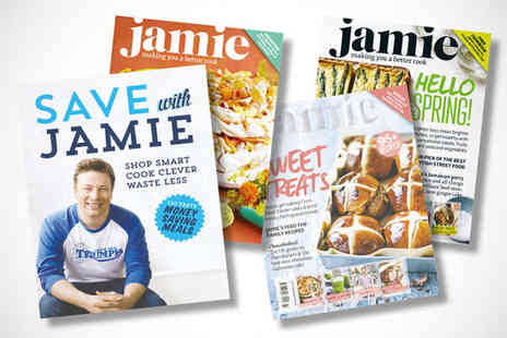 Jamie Magazine - One Year Subscription Plus Copy of Jamie Oliver's New Cookbook Save with Jamie - Save 56%