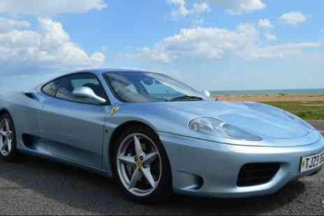 Golden Moments - 25 mile Ferrari motorway driving experience - Save 51%