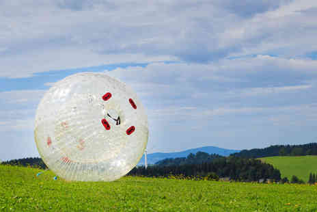 Planet Zorb - Three person harness zorbing experience - Save 49%