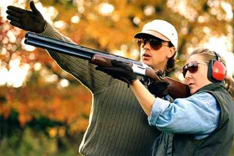 Hawley Clay Shooting Ground - Clay Pigeon Shooting With Tuition - Save 54%