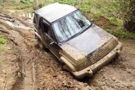 Mud Dog Off Road - Land Rover Defender Driving Experience - Save 51%