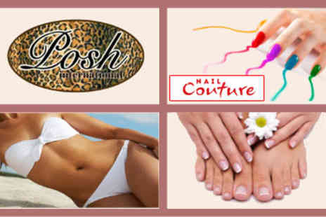 Posh International Lisburn - Full Body Spray Tan and Nail Couture Gel Polish for Fingers and Toes - Save 64%