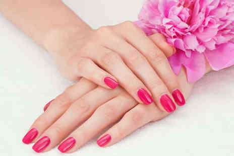 Sunset Boulevard - Shellac Nails Treatment for Hands and Feet - Save 53%