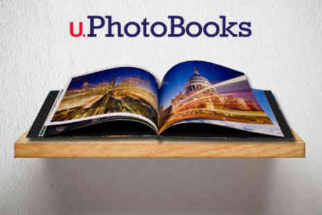 U.Photobooks.com - 24 Page Personalised A4 Landscape Hard Cover Photo Book - Save 67%