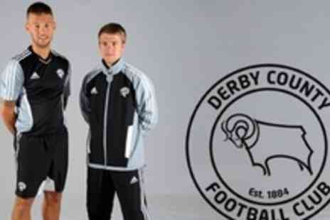 Derby County Football Club - Adidas Sweat Pants in Sizes 30-42 - Save 56%