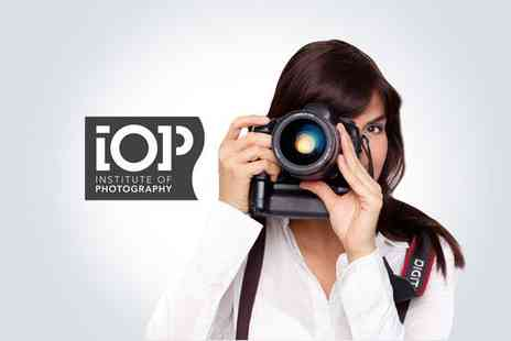 Institute of Photography - Online 20 unit photography course - Save 85%