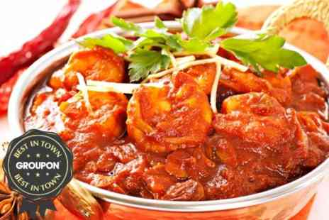 Bombay Palace - Indian Meal With Rice and Side Dish - Save 63%