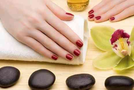 Me time Beauty - Standard, Chocolate or Hot Stone Manicure - Save 50%