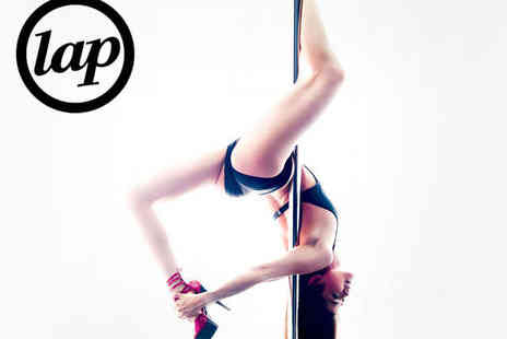 London Academy of Pole Dancing - One Beginner Pole Dancing Classes - Save 53%