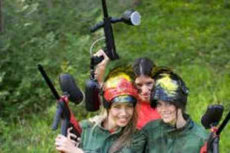 Ambush Paintball - Full Day Paintball Experience with 200 Paintballs - Save 68%