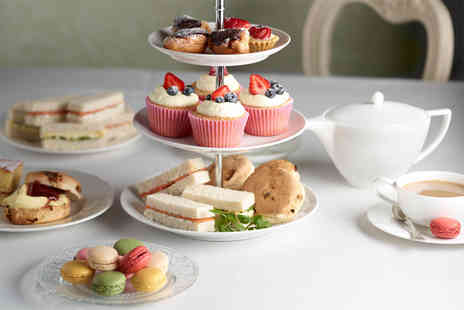 Stuart Hotel - Afternoon tea for 2 including sandwiches scones cakes and a tea or coffee - Save 65%