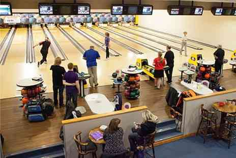 The Bowl Bromborough - Night Bowling With Pizza For Four - Save 63%