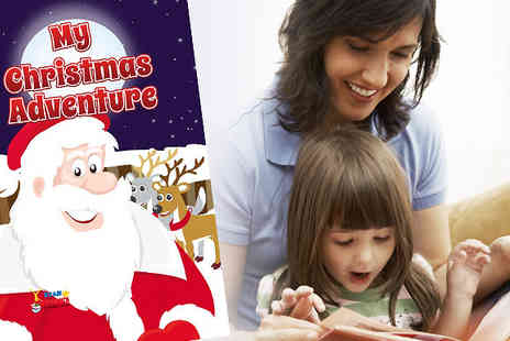 Star Stories - Get your kids this my Christmas adventure book starring no other than your own child - Save 50%