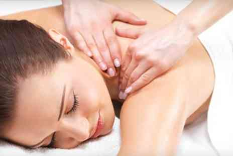 Hairticians - Back Neck and Shoulder Massage With Indian Head or Foot Massage - Save 72%