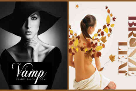 Vamp Beauty Salon - Bronze Leaf Spray Tan - Save 52%