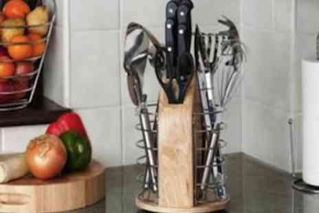 Garden Games - 16 Piece Utensil Set  The Complete Kitchen Accessory Set - Save 47%