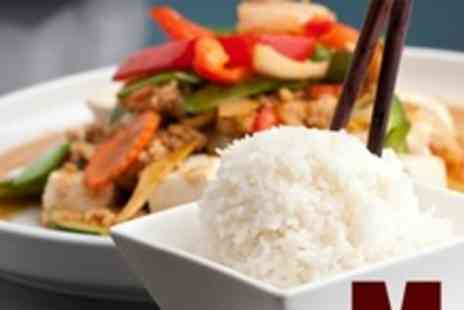 Moji restaurant - Two Courses of Chinese Fare For Two - Save 65%