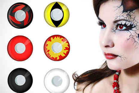Roolyn - Halloween Contact Lenses 6 Designs - Save 71%