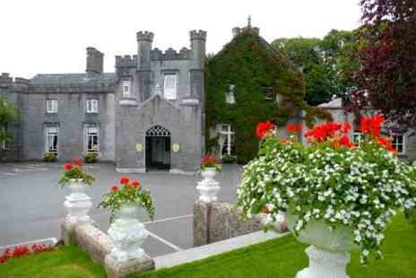 Abbey Hotel - In County Roscommon One Night For Two With Breakfast Sparkling Wine and Chocolates - Save 64%