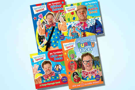 KidsIQBooks - Four Book Something Special Collection - Save 57%