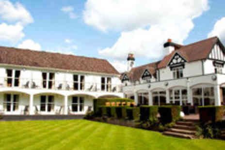 Buckatree Hall Hotel - Two Night Shropshire Dining Break for Two - Save 57%